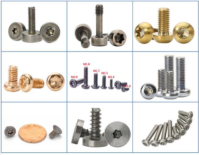 six-lobe screw