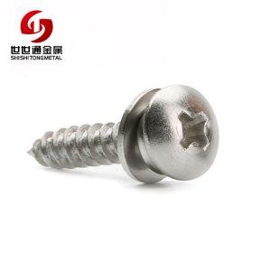 cross recessed combo screw