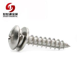 stainless steel combo screw