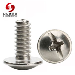 Stainless Steel Truss Washer Head Phillips-slotted Screw