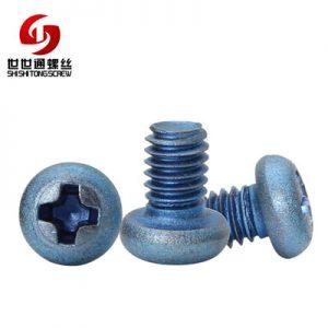 round titanium screw