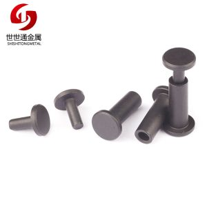 M4 Flat Head Carbon Steel Chicago Screw Book Screw