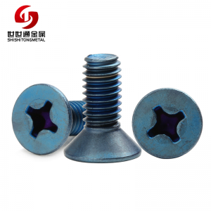 titanium flat head screw