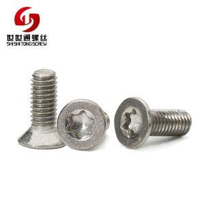 Torx Screw, Stainless Steel Flat Head Machine Screws