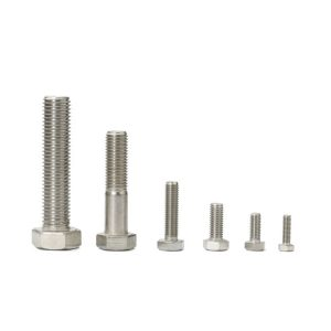 hex machine screw