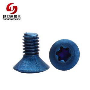 raised countersunk screw
