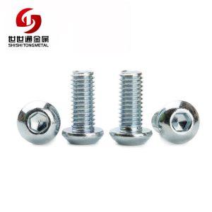 Carbon Steel Allen Socket Button Round Head Bolt