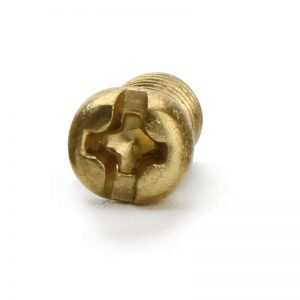 Small Brass Screws Round Head