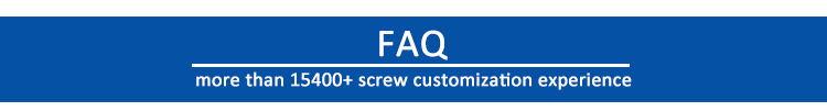 custom screw manufacturer