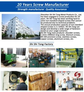 custom screw manufacturer
