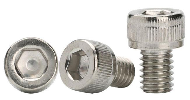 Metric Socket Head Cap Screws Stainless Steel