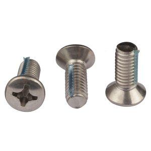 raised countersunk head screw