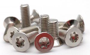 flat head torx machine screws