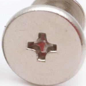 male and female screws