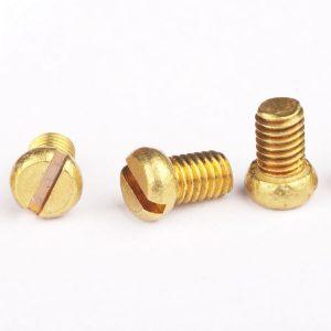 Brass Pan Head Screws | Shi Shi Tong