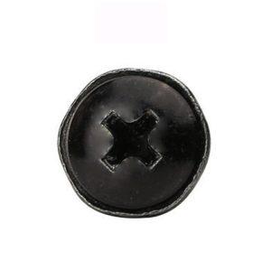 black phillips head screws