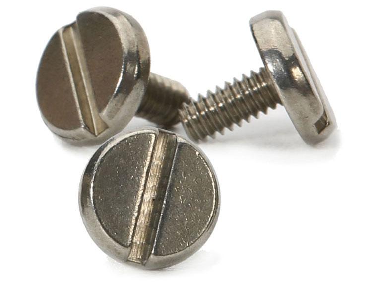 slotted head machine screw