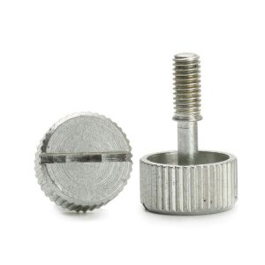 4 40 Knurled Thumb Screw