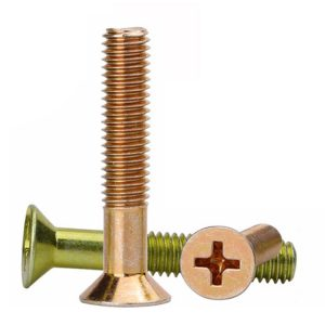 phillips flat head machine screw
