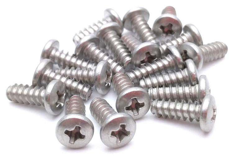 pan head stainless screws