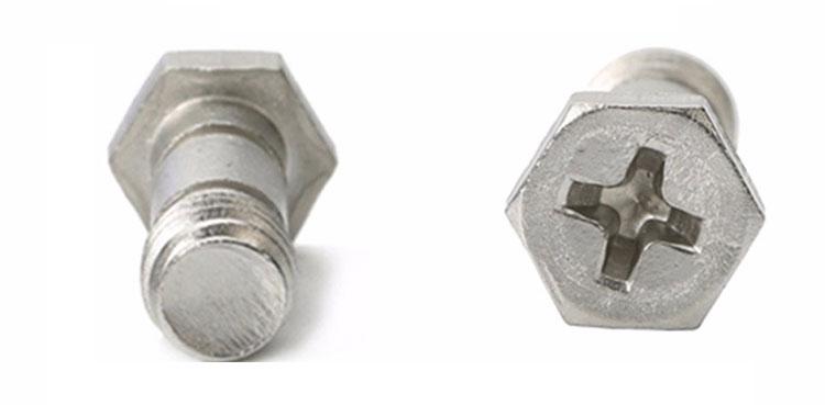 stainless steel hex screws