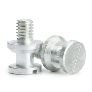 white machine screws