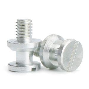 white machine screws