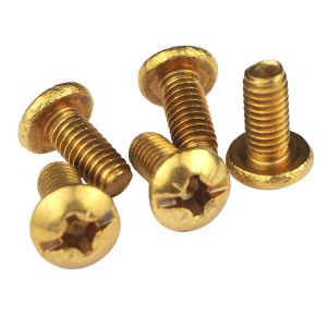 M3 Brass Machine Screws, Pozi Phillips Slotted Screws