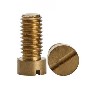 brass slot head screws