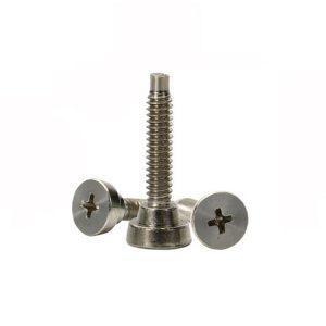 stainless steel flat head screws