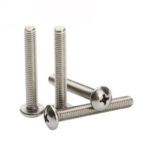 stainless steel pan head machine screws