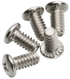 serrated screw