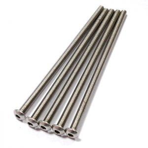 long thin no4 100mm screws